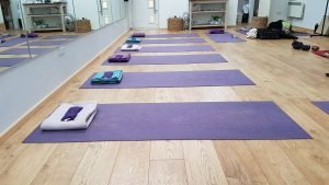 Yoga Fareham classes in our Wickham Yoga Studio.